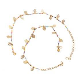 Vanity Roots Alloy Anklet