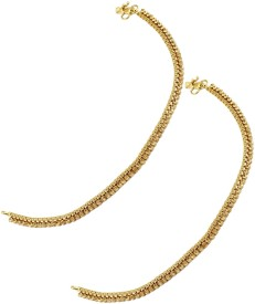 The Art Jewellery Brass Anklet