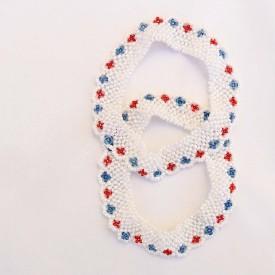 Beadworks Beaded Handmade Glass Anklet