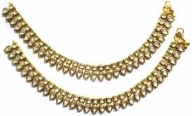 Jewelshingar Jhanjhar Payal Brass Anklet