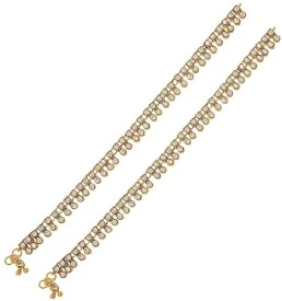 The Jewelbox Brass Anklet