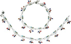 Charms Prem Ratan Dhan Payo Inspired Alloy Anklet