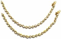 Jewelshingar Antique Payal Brass Anklet Pack Of 2