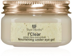 Just Herbs I?Clear Green Tea-Cucumber Nourishing Under Eye Gel - 50 G