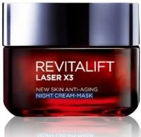 Loreal Paris Revitalift Laser X3, New Skin Anti-Aging Night Cream - Mask (50 Ml)