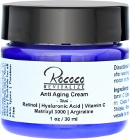 Rococo Anti Aging Cream With Retinol Hyaluronic Acid Vitamin C Matrixyl 3000 - 1oz (30 Ml)