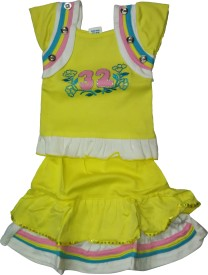 Mehta Top Baby Girl's  Combo