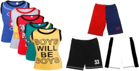 Gkidz Vest Boy's Combo