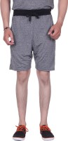 Gag Wear Solid Men's Grey Sports Shorts
