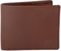 Gansta Men, Women Brown Artificial Leather Wallet 3 Card Slots