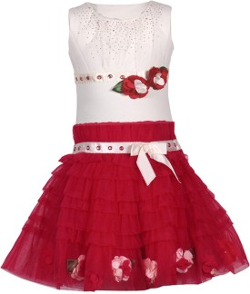 Cutecumber Top And Skirt Set Girl's  Combo