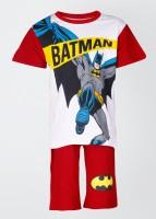 Batman T-shirt and Shorts Set Boy's Combo