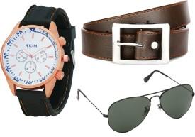 Atkin Wrist Watch Men's  Combo