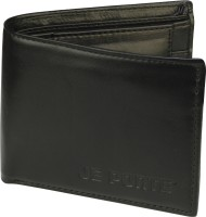 Dezine Men Black Artificial Leather Wallet 3 Card Slots