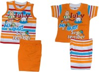 Little Hub Tops And Shorts Set Baby Boy's  Combo - ACBEA46NFZZF3ETM