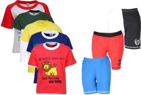 Gkidz T-shirt And Shorts Set Boy's  Combo
