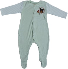 Indirang Solid Baby Boy's, Baby Girl's Jumpsuit