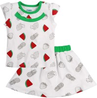 Snuggles Top With Skirts Baby Girls  Combo