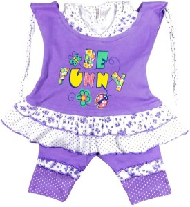 For U T-Shirt Baby Girl's  Combo