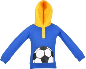 Gkidz Full Sleeve Printed Boy's Sweatshirt