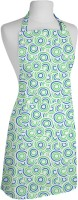 Smart Home Textile Cotton Apron Large Green, Blue, Single Piece