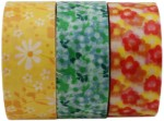 Tootpado Art & Craft Toys Tootpado Washi Tapes Adhesive Paper in Beautiful Flowers For Decoration