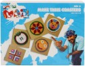 Toy Kraft Pogo Mad Make Table Coasters