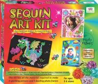 Happy Kidz Sequin Kits Toys Sequin Art