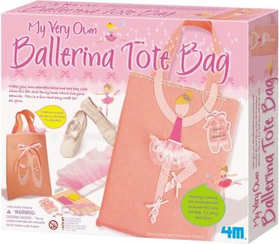 4M Art & Craft Toys 4M My Very Own Ballerina Tote Bag