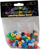 Birthdaygiftwala Rainbow Loom Accessories - Pony Beads Multi Coloured