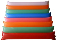 SNB Blow Stick Lala Refuels Inflatable Stick Multicolor (Pack Of 10 Single Sticks)