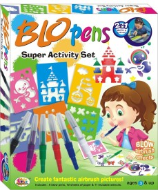 Ekta Toys Blow Pens Super Activity Set