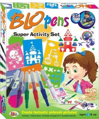 Ekta Art & Craft Toys Ekta Blow Pens Super Activity Set