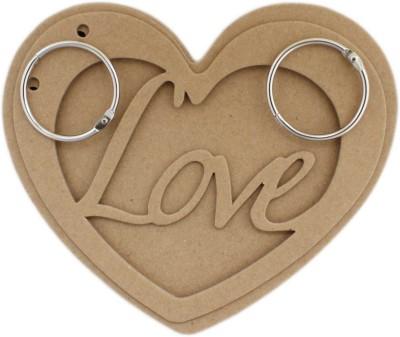 Tootpado Art & Craft Toys Tootpado Heart Shaped Chipboard Mini Album Scrapbook DIY Art & Craft Activites
