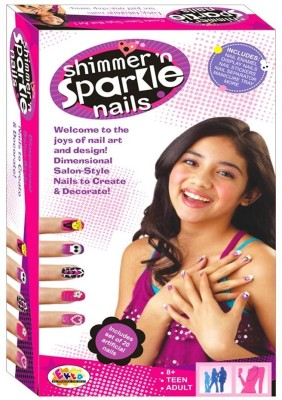 Ekta Art & Craft Toys Ekta Shimmer Sparkle Nails