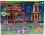 Funskool Art & Craft Toys Funskool Fundoh Police,Multi Colour