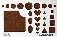 Tootpado Designer Paper Quilling Board (1l377) - Hearts - Art And Craft Tools For Creative Purposes.