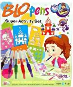 Homeshopeez Art & Craft Toys Homeshopeez Ekta Blow Pens Super Activity Set