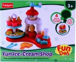 Funskool Art & Craft Toys Funskool Fundoh fun ice cream shop playset