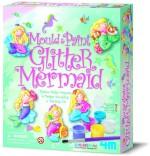 4M Art & Craft Toys 4M Mould & Paint, Glitter Mermaid