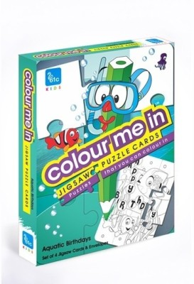 61c Colour Me In Jigsaw Puzzle Cards
