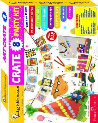 Lighthouse Art & Craft Toys Lighthouse Make Your Own Decoration Party Crate