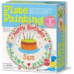 4M Art & Craft Toys 4M Paint Your Own Plate Painting Kit