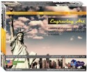 Sunny Engraving Art - Statue Of Liberty