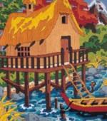 Anchor Art & Craft Toys Anchor Stitch Kits Bay Cabin