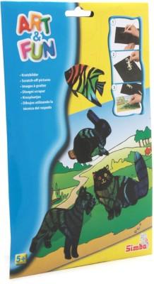 Simba Art & Craft Toys Simba Art & Fun Scrathchart