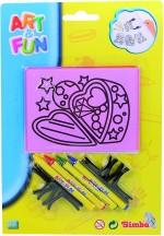 Simba Art & Craft Toys Simba Art & Fun Mirror Art