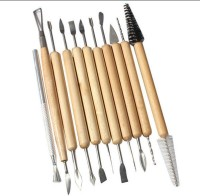 Dragon 11 Pcs Pottery Clay Sculpture Carving Tool For Scraping Smoothing Shaping / Terracotta Jewellery Making Tool