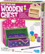 4M Art & Craft Toys 4M Paint Your Own Wooden Chest