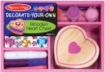Melissa & Doug Art & Craft Toys Melissa & Doug Wooden Heart Chest